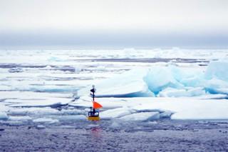 В Северном ледовитом океане впервые замечены гигантские волны
