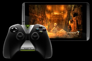 Nvidia анонсировала игровой планшет и беспроводной контроллер семейства Shield