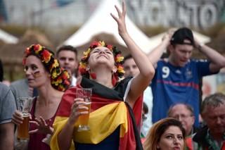 Немцы побили пивной рекорд благодаря чемпионату мира