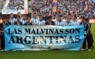 Ассоциацию футбола Аргентины оштрафовали за политический баннер
