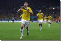 Гол Хамеса Родригеса в ворота Уругвая признан самым красивым на ЧМ-2014