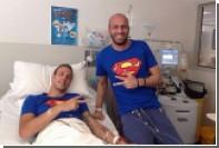 Греческий футболист пожертвовал костный мозг больному лейкемией брату