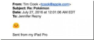Тим Кук не смог правильно произнести слово «покемон»