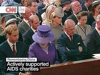 В Лондоне поминают принцессу Диану