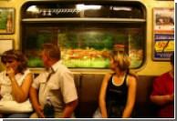 Тоннели киевского метро демонстрируют кино
