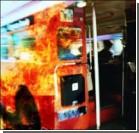 На севере Испании снова горят автобусы