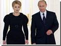 Путин поздравил Тимошенко с главным праздником Украины