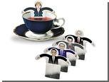 Немецкие дизайнеры предложили выпить чаю с Путиным
