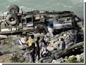 В Бангладеш перевернулся пассажирский автобус