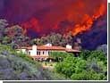 Из-за лесных пожаров в Калифорнии эвакуированы тысячи людей