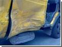 Грузовик врезался в маршрутку в Чувашии