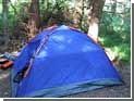 Пьяный водитель задавил туристов, ночевавших в палатке