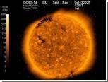 Спутник GOES-14 передал первый снимок Солнца