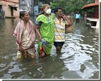 В Индию пришла большая вода. Есть жертвы