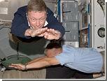 Астронавты продемонстрировали космический планкинг