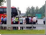 В Китае освободили захваченных в заложники пассажиров автобуса
