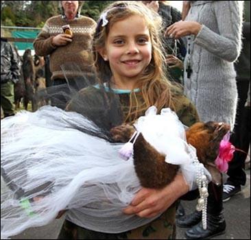 Состоялся конкурс костюмов для мертвых опоссумов. ФОТО