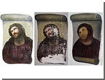 Отреставрированную до неузнаваемости испанскую фреску попросили сохранить