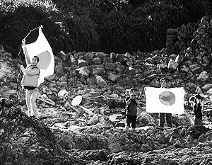 Китай ответил акциями протеста на визит японцев на Сенкаку