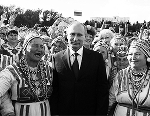 """Путин призвал диаспоры брать """"шефство"""" над мигрантами"""