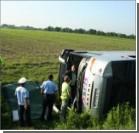 В Румынии перевернулся автобус с украинцами: есть раненые