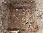 В Туве обнаружено хорошо сохранившееся захоронение скифов