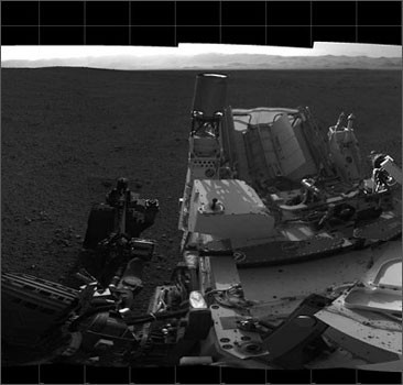 Марсоход Curiosity снял таинственные НЛО. Видео, фото