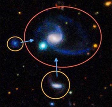 Обнаружен двойник Млечного Пути