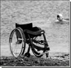 Женщина изобрела инвалидную коляску для плавания под водой