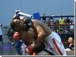 Боксер дисквалифицирован на 10 лет за укус соперника
