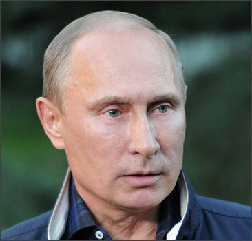 Путин: Применении химоружия Дамаском - дурь несусветная