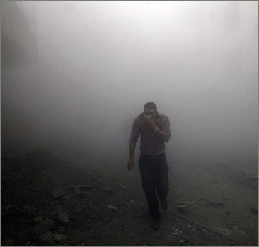 Химическая атака под Дамаском: погибли не менее 500 человек