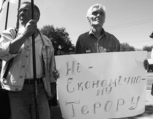 Украина отказалась от торговой войны с Россией