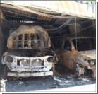 Экс-начальнику Николаевского УБОПа сожгли Lexus и Toyota. ФОТО