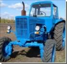 Трое пьяных россиян на тракторе нарушили границу с Украиной