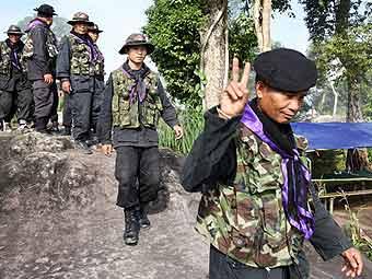 Тайские солдаты захватили камбоджийский храм