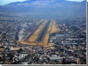 В аэропорту Кито самолет выкатился за пределы взлетной полосы