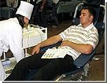 Кишиневские студенты-медики начали сдавать кровь