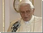 Паук отвлек журналистов от речи Папы Римского в Праге