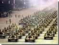 По главной улице Пекина ездят танки и гаубицы