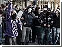 В Афинах произошла стычка между полицейскими и анархистами