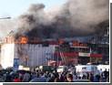 В Сургуте загорелся торговый центр