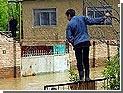 В частном секторе Махачкалы затоплены десятки жилых домов