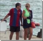 Катю Осадчую застукали на пляже с мужчиной. Фото, видео