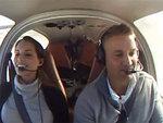 Падающий самолет помог пилоту позвать возлюбленную замуж