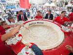 В Хорватии приготовили самую большую чашку капучино