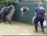 В школу Нью-Йорка вернули сбежавшего павлина