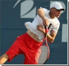 Американский теннисист сыграл ракеткой с двумя ручками. Фото, видео