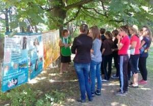 Адвентисты провели программу по здоровью в школе, где училась Ани Лорак