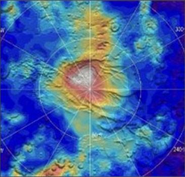Ученые увидели, как на Марсе идет снег